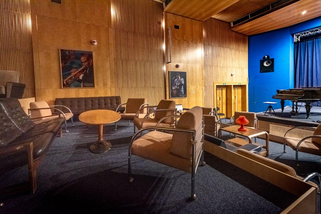 The Loop Jazz Club Interior